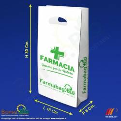 Misure borsa bio maniche a fagiolo generica per Farmacia - Borse.Bio